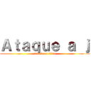 Ataque a j (attack on titan)