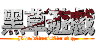 黑草遊戲 (BlackGrassGaming)