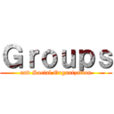 Groups (and Social Organization)